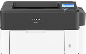 RICOH P 801 Black and White Laser Printer