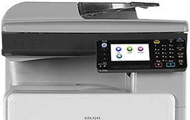 RICOH MP 301 SPF Black and White Laser Multifunction Printer - 416185