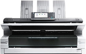 RICOH MP W8140 Wide Format Digital Imaging System- 240-417286