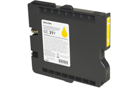 RICOH Yellow Print Cartridge GC 31Y