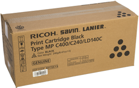 RICOH Black Print Cartridge Type MP C400/C240/LD140C