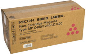 RICOH Magenta Print Cartridge Type MP C400/C240/LD140C