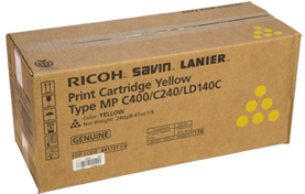 RICOH Yellow Print Cartridge Type MP C400/C240/LD140C