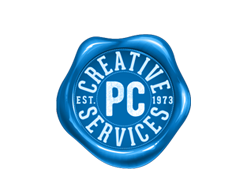 PC creative services logo