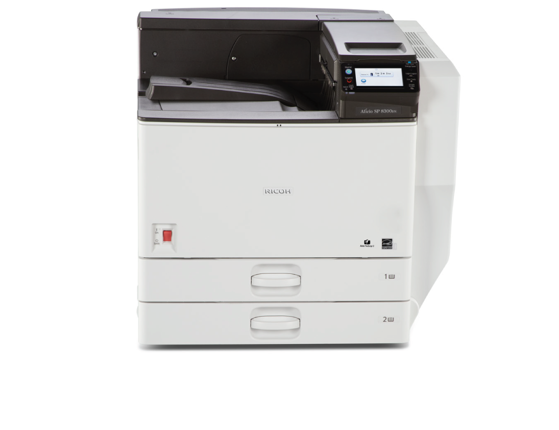 Photo of the SP8300DN printer