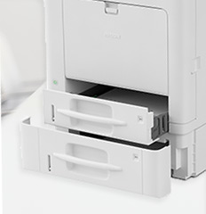 Photo of the Ricoh SP C352DN printer.