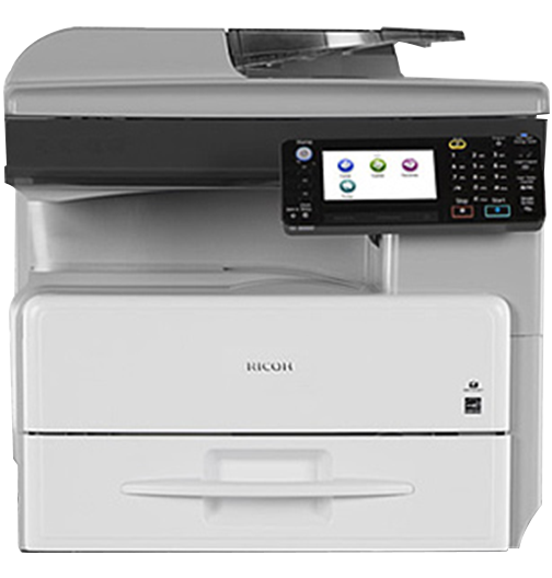 RICOH MP 301SPF Black and White Laser Multifunction Printer - 240-416185