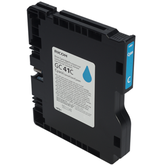 RICOH Cyan Print Cartridge GC 41C