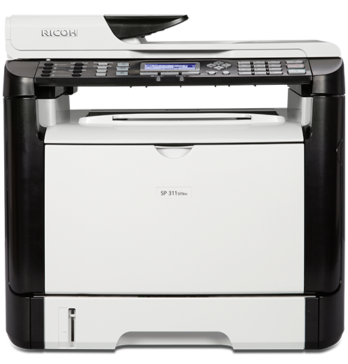 RICOH SP 311SFNw Black and White Laser Multifunction Printer - 407240
