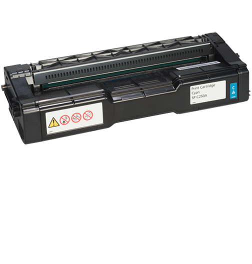 RICOH Cyan Print Cartridge  AIO SP C250A