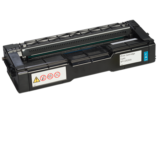 RICOH Cyan Print Cartridge  AIO SP C252HA