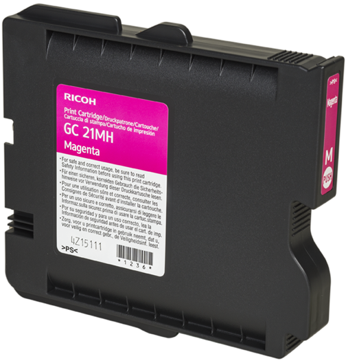 RICOH Magenta Print Cartridge High Yield GC 21MH