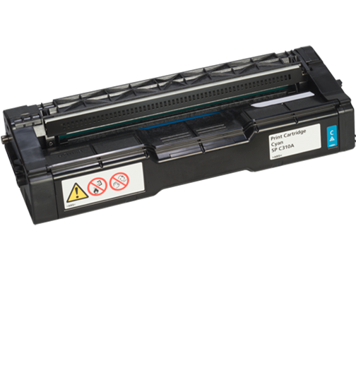 RICOH Cyan Print Cartridge  AIO SP C310A