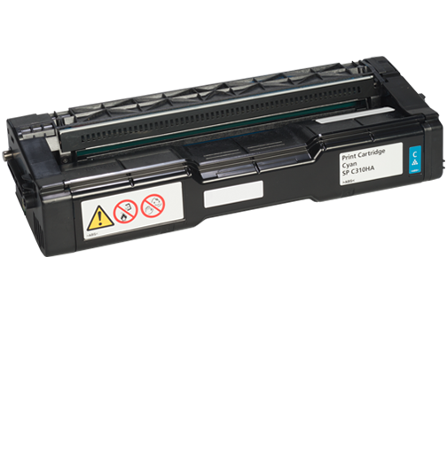 RICOH Cyan  Print Cartridge AIO SP C310HA